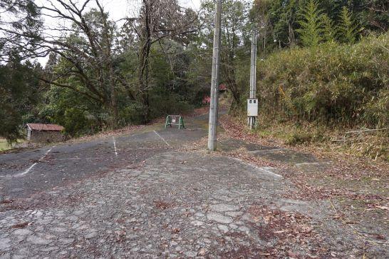 甲賀の里忍者村の西口駐車場