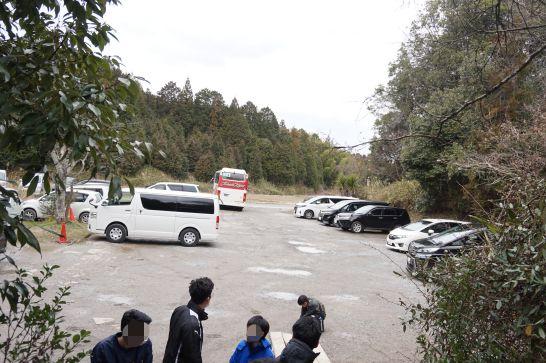 甲賀の里忍者村の東口駐車場