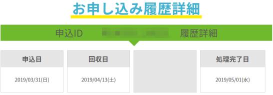 リネットジャパンのマイページ