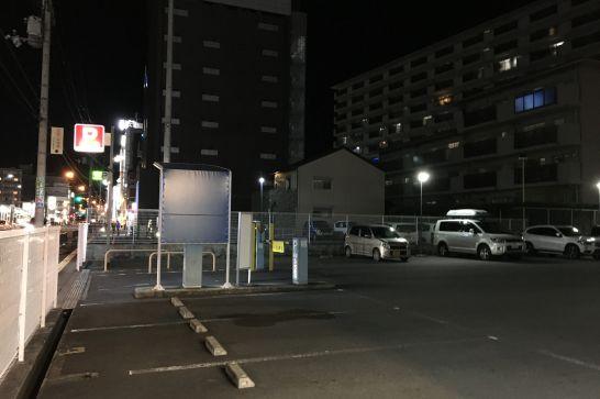 コンフォートホテル奈良の駐車場