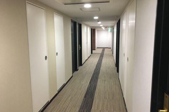 コンフォートホテル奈良の廊下