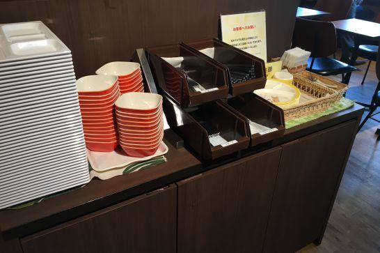 コンフォートホテル奈良の朝食