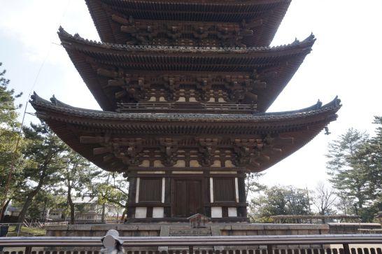 奈良県興福寺にある五重塔