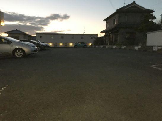 とんまさの駐車場