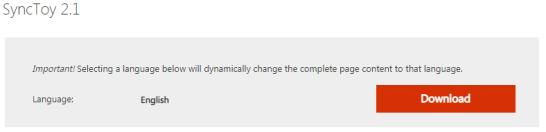 Sync ToyのMicrosoft公式ページ