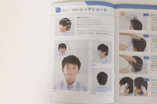 Panasonicのカットモードの魅力③:ガイドブックが本当に助かる