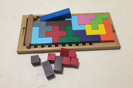 カタミノは3歳~99歳まで遊べるブロック知育玩具