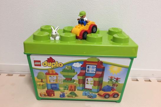 1歳半から遊べる大きなレゴブロックのDUPLO