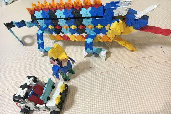 LaQ(ラキュー)は想像力が身に付くブロック玩具