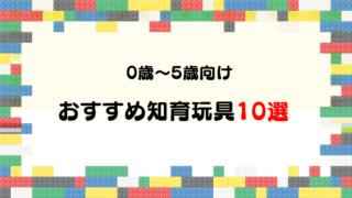 【体験談】0~5歳向けのおすすめ知育玩具・おもちゃ10選【乳幼児向け】