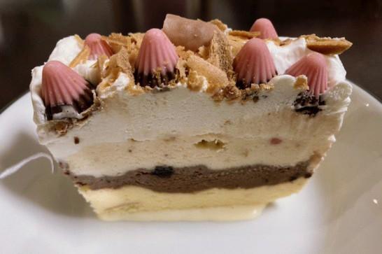 アイスケーキ作りに初挑戦